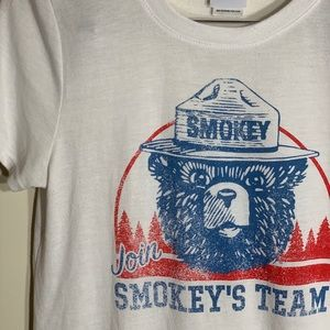 Tops - Vintage Smokey the Bear Shirt